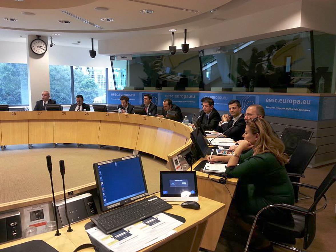 LEAD Class Attends Leadership Workshop and Visits EU Institutions in Brussels