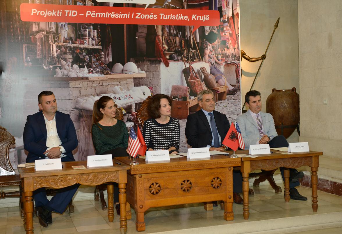 TID Kruja Memorandum of Understanding is Signed