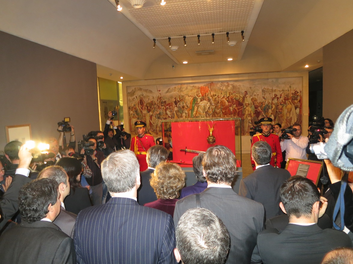 Skanderbeg Armor Display