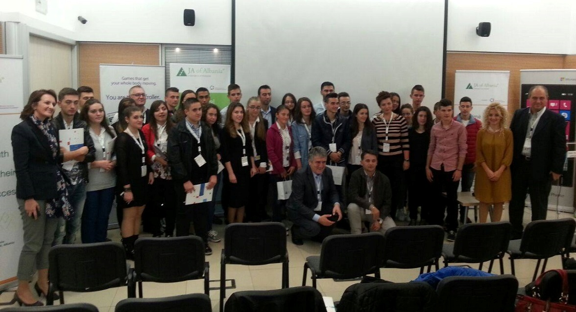 Regional Innovation Camp of Tirana Organized by JA of Albania with the Support of Microsoft Albania
