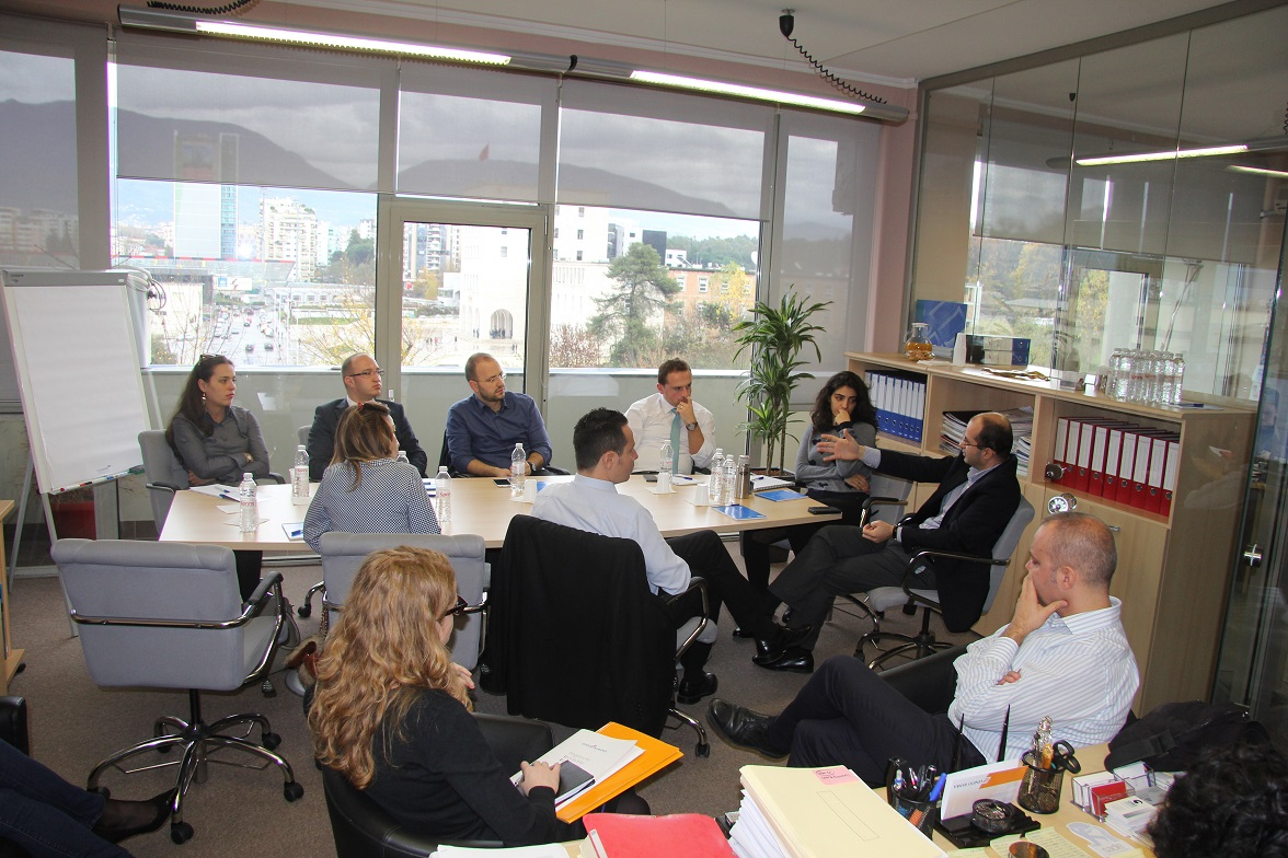 First Training Session Held for LEAD Albania Class of 2015