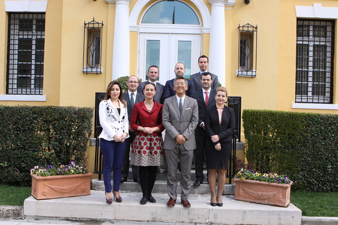 LEAD Albania Fellows 2015 met with H.E Mr. Donald Lu, US Ambassador in Albania