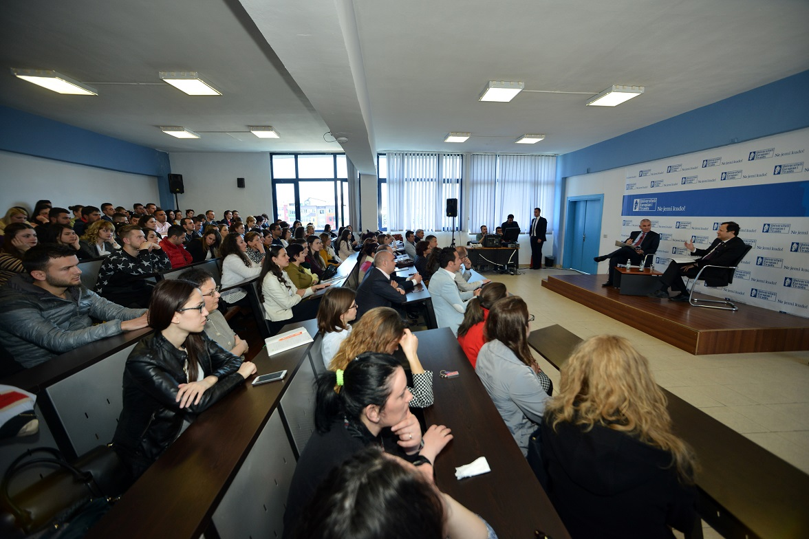 AADF Chairman, Mr. Michael Granoff Guest Lectures at the European University of Tirana