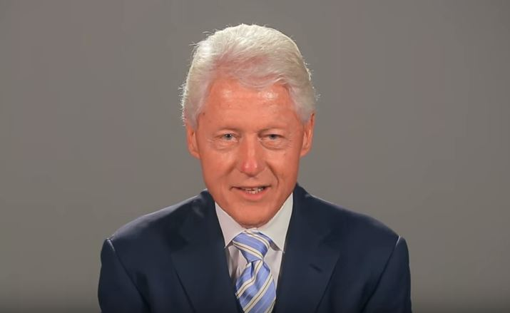 Former President Clinton congratulates the AAEF on 20th Anniversary