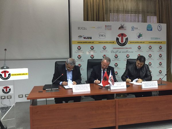 Memorandum of Understanding between the AADF and University of Tirana on LEAD Albania