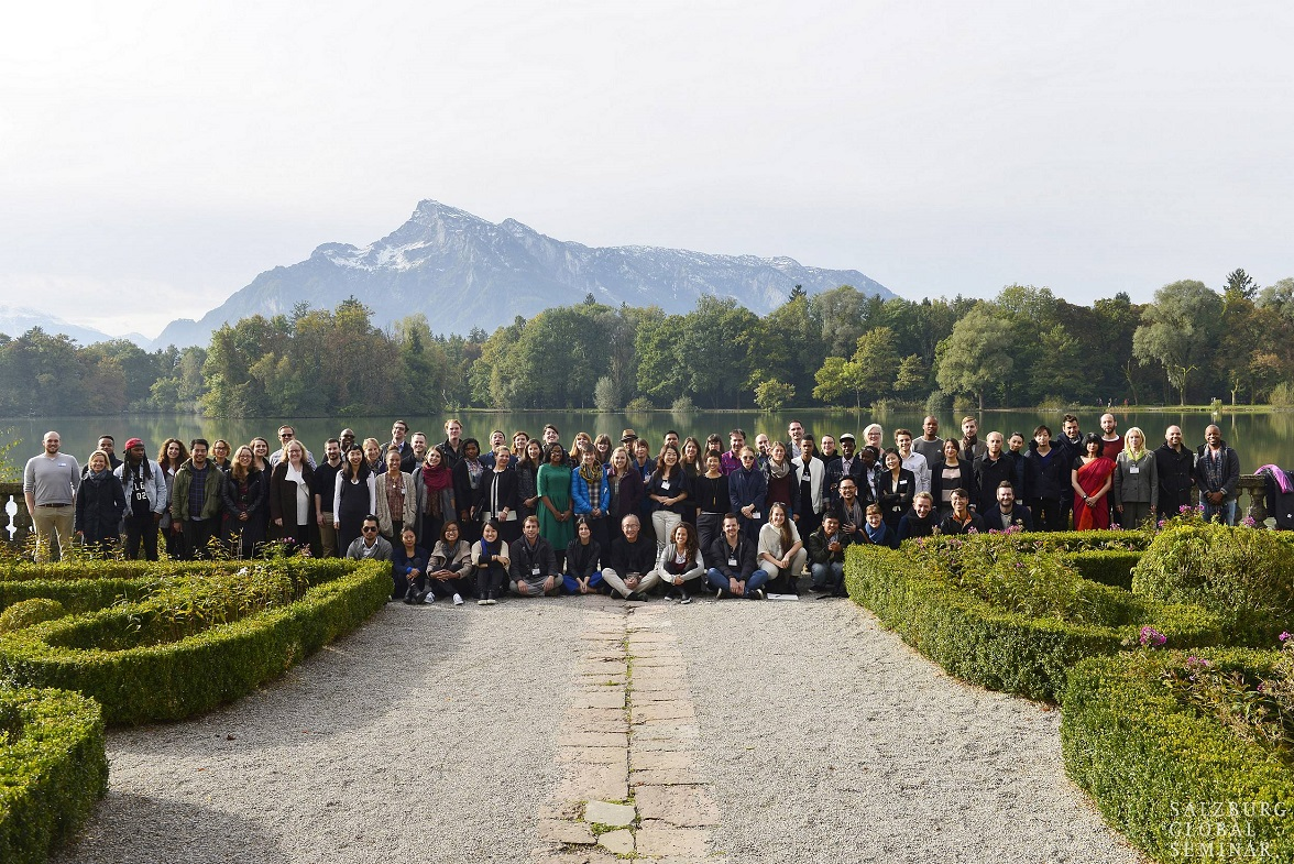 Albanian team at Salzburg Global Forum for Young Cultural Innovators III