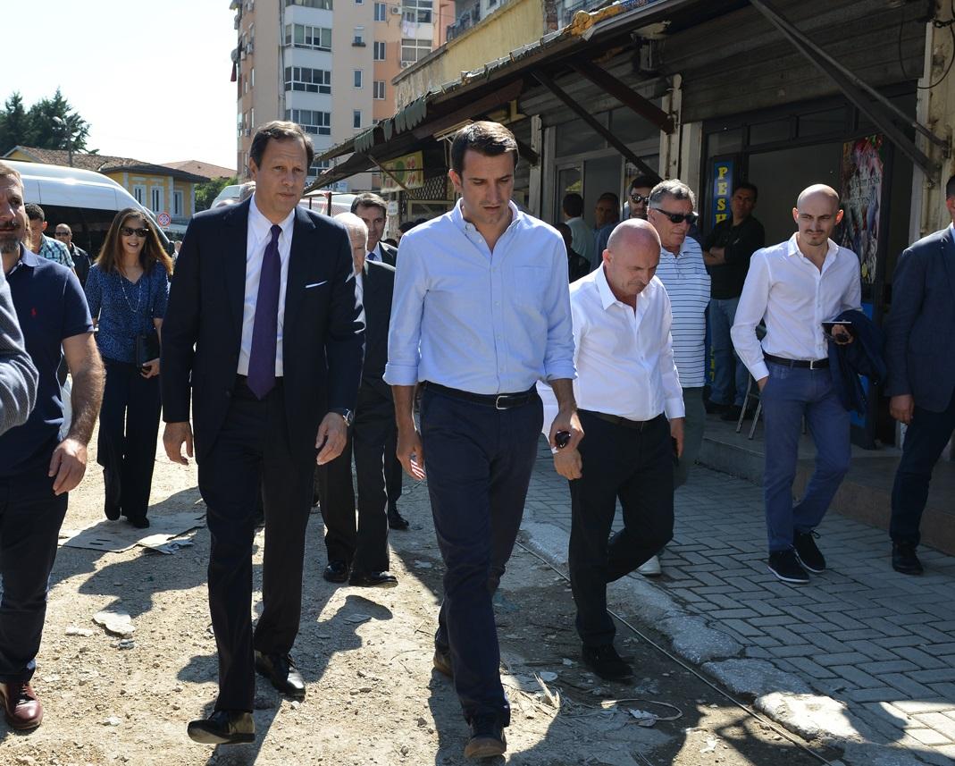Work Inspection in TID Tirana New Bazaar