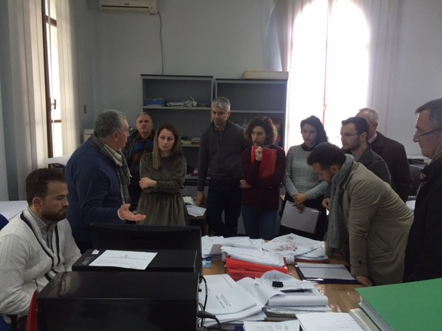 Meeting and site visit in TID Vlora