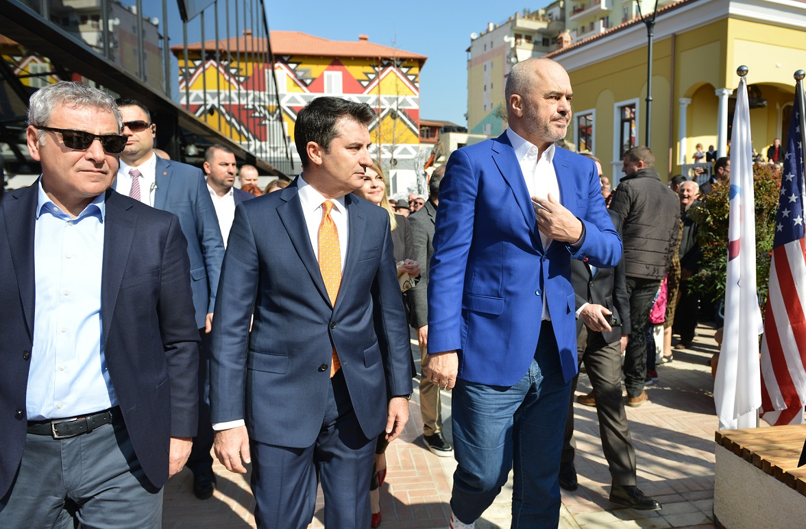 Tirana New Bazaar Inauguration