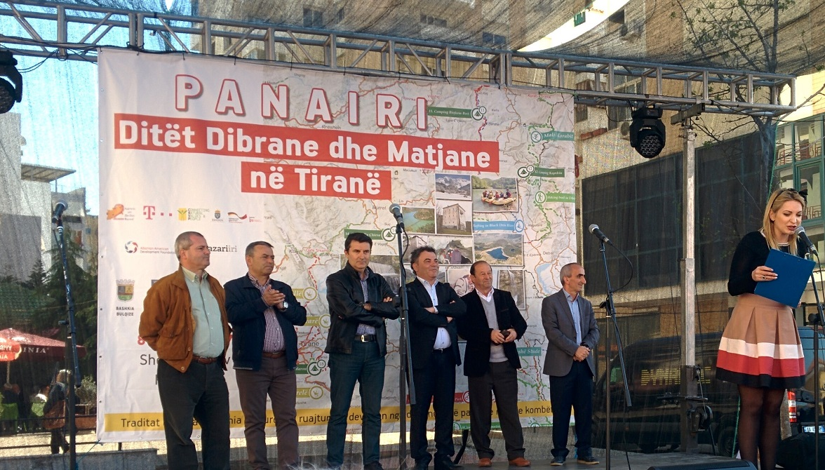 "Fair ""Dibra and Mati days in Tirana"" at Tirana New Bazaar"