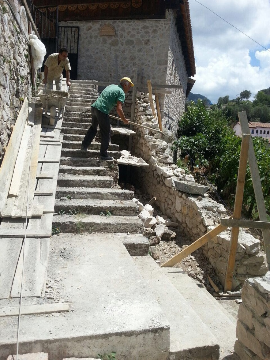 Reconstruction of Public Toilets at Old Bazaar, Kruja