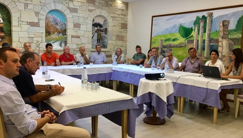 Presentation meeting of the model and Association TID Gjirokastra