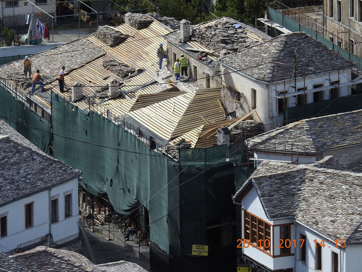 Working progress in TID Gjirokaster