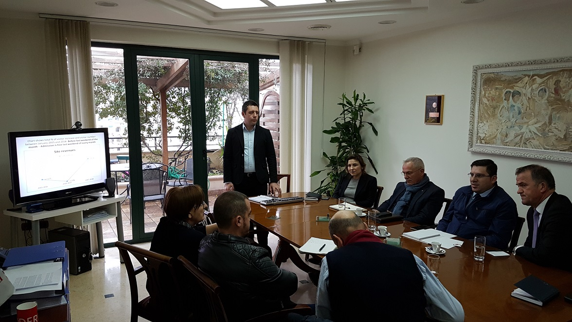Meeting on the impact and continuation of the E-ticketing Project