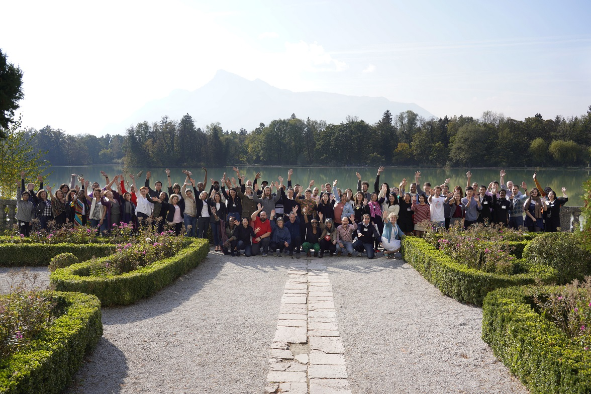 The third team of Albanian participants at Salzburg Global Forum for Young Cultural Innovators V
