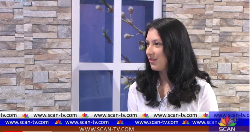 Presentation of School Leadership Project by Jonida Lamaj at Scan TV