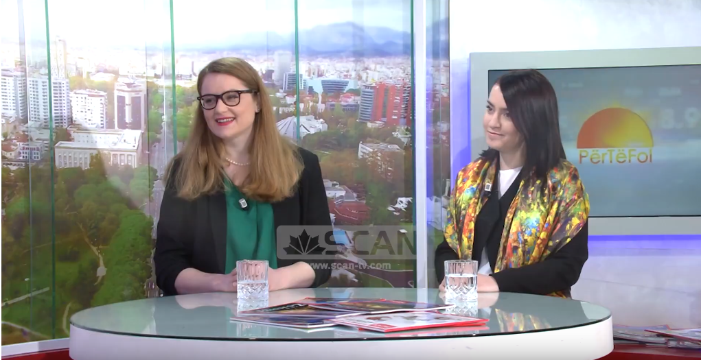 LEAD Albania Program interview at Scan TV