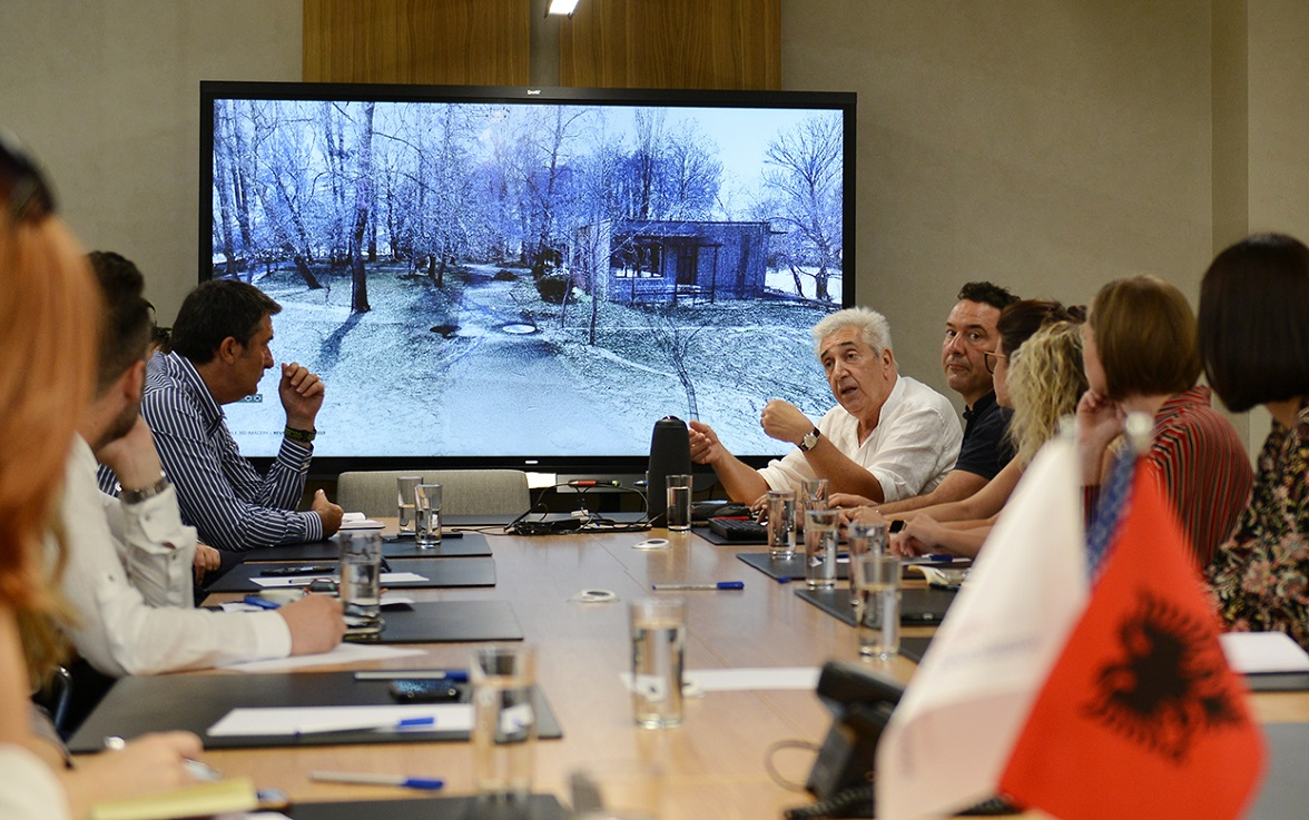 Drilon-Tushemisht Project is discussed on a technical roundtable with Albanian Authorities