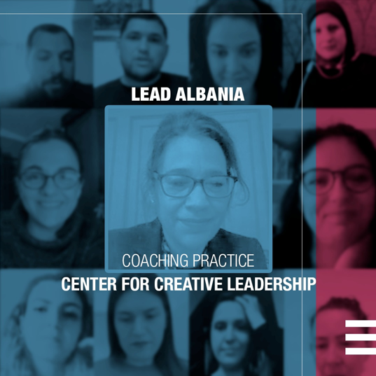 LEAD Albania – Online coaching sessions from Center for Creative Leadership