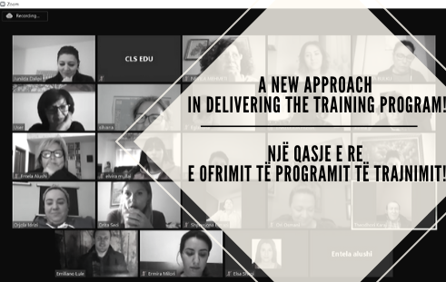 A new approach in delivering the training program!