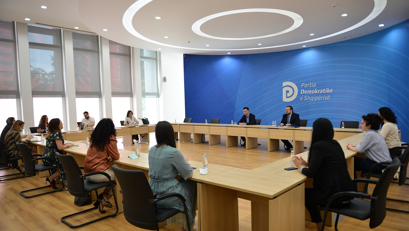 Lead Albania – Meeting with the Head of the Democratic Party